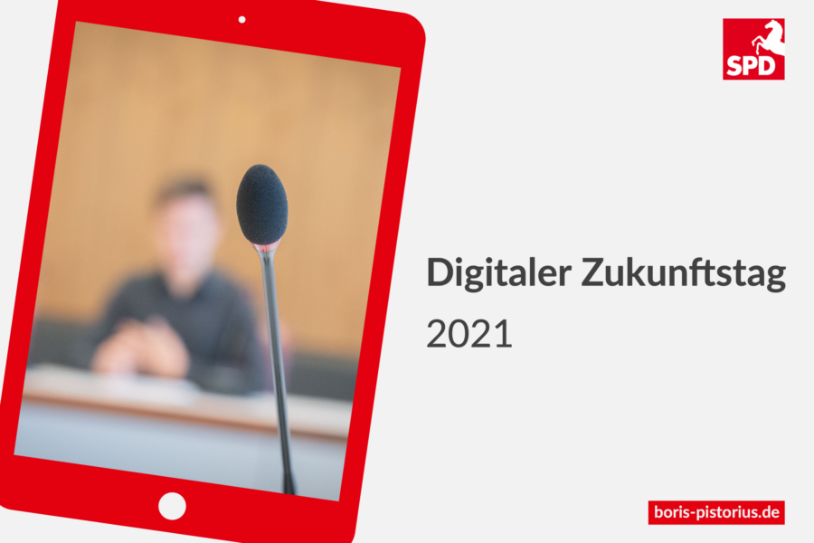 Zukunftstag 2021 Werbefoto